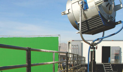 JR Lighting - Green Screen Outside - Lighting and grip equipment delivery