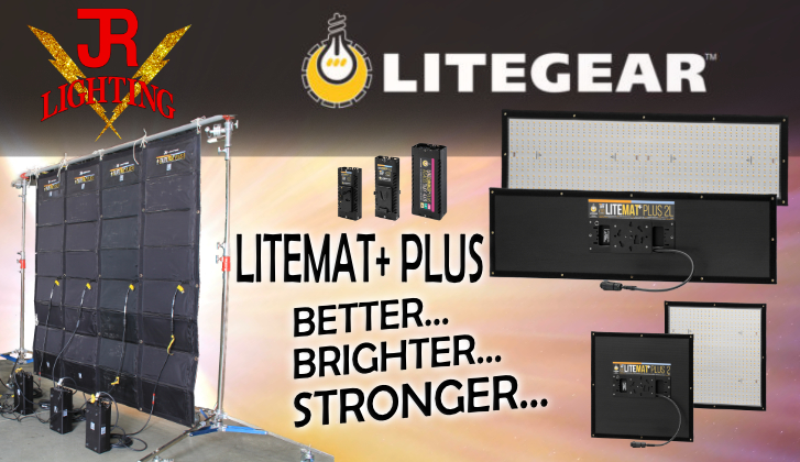 JR Lighting & Grip Las Vegas | Home Slider Image | LiteMat+ PLUS