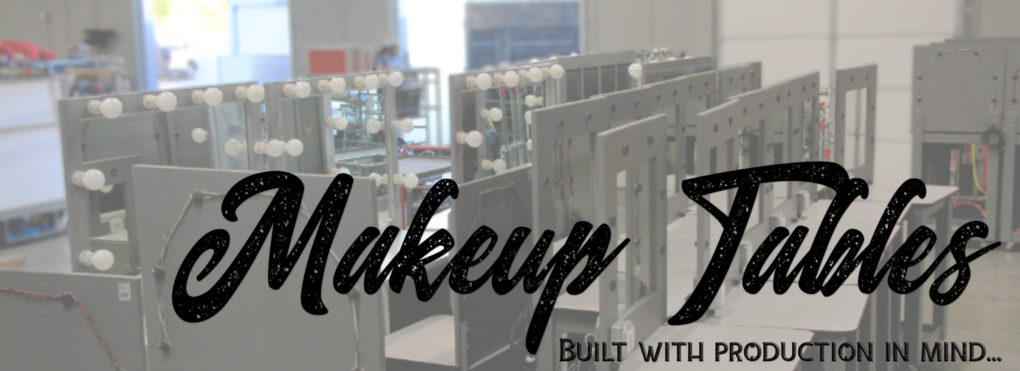 Makeup Table Rentals Las Vegas | JR Lighting
