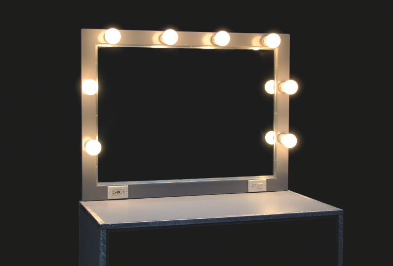 Back Stage Makeup Table Rentals Las Vegas | JR Lighting