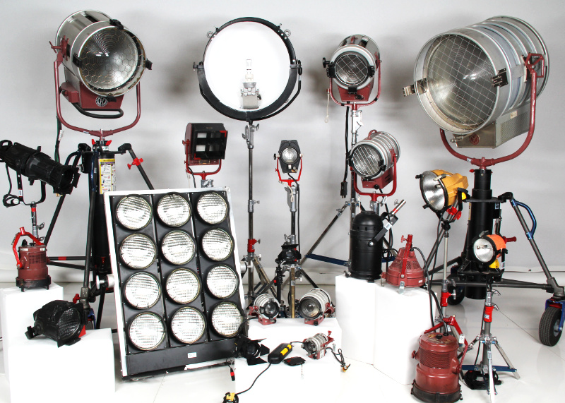 JR Lighting - Tungsten Lighting Rental
